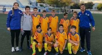 Entrenamiento de la Selección FFCV Sub-12 en Picassent el lunes 18