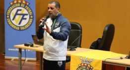 Marquinhos Xavier visitó la FFCV e impartió una 'masterclass' en La Petxina
