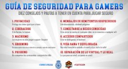 Primera guía de seguridad para gamers de la mano de Policía Nacional y MAD Lions EC
