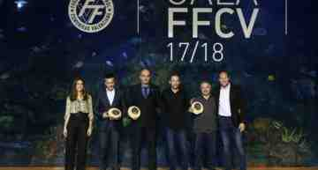 Resumen: lista de premiados y retransmisión íntegra FFCV en su gala de Entrega de Premios y Trofeos 2017-2018