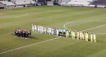 Joventut Almassora y Villarreal se reparten los puntos en un histórico derbi en Castalia (0-0)