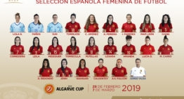Cuatro jugadoras del fútbol valenciano defenderán la camiseta de España en la Copa Algarve