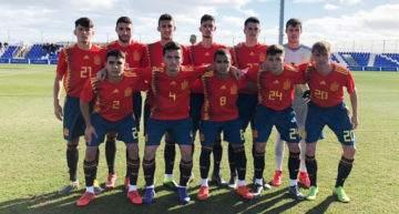 Empate entre España Sub-19 y Escocia en el amistoso disputado en Pinatar Arena (1-1)
