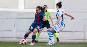 Tercer empate seguido del Levante Femenino ante una sólida Real Sociedad (1-1)