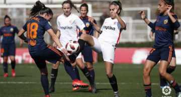 Otra victoria que se le escapa al VCF Femenino en los últimos instantes ante el Sevilla (2-2)