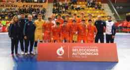 La Selección FFCV Sub-16 de futsal cayó en semifinales ante Murcia (4-8)