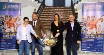 VIDEO: València se estrena como sede del Senior Masters Cup de tenis con Wilander, Ferrer, Feliciano y Costa