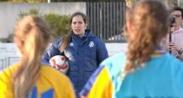 Andrea Esteban arranca su nueva vida como preparadora: 'No creía que podría ser entrenadora después de dejar el fútbol'