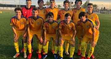 La FFCV Sub-16 seguirá preparando la Fase Final del Campeonato de España el lunes 25