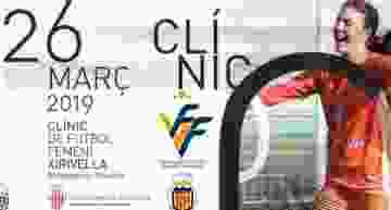 Clinic de futfem en Xirivella el próximo 26 de marzo