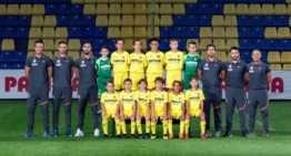 El Villarreal Benjamín 'A' alcanza el parón por Fallas en plena forma