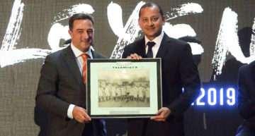 Este fue el gran detalle de la FFCV con el Valencia CF en su celebración del Centenario