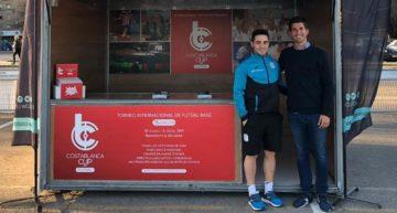 Costa Blanca Futsal Cup promociona su 15 aniversario en la XXX Copa de España de fútbol sala en Valencia