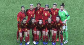 España Sub-17 Femenina arranca la Ronda Élite como un ciclón ante Eslovaquia (5-0)