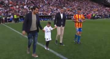 VIDEO: El saque de honor que el querubin Omar Galiana no olvidará nunca