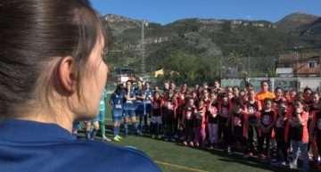 Más de 80 niñas disfrutaron en el Clínic #Valenta de La Safor