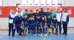 La selección FFCV Sub-14 de futsal cierra el Campeonato de España con una décima plaza