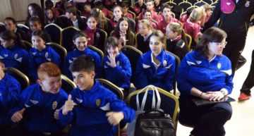 GALERÍA: Así fue la gala de presentación del Campeonato de España Sub-12 'Valores de Campeonæs' de Mislata