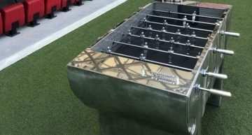 ¿Comprarías por 80.000 euros el futbolín más caro del mundo?