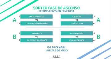 La RFEF mantiene su decisión y el Tacuense no jugará la promoción de ascenso a la Liga Iberdrola