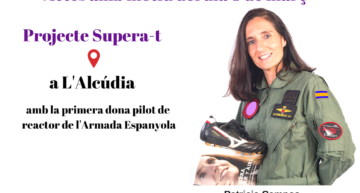 Igualdad y deporte con la expiloto Patricia Campos y deportistas locales en l'Alcúdia este 4 de abril