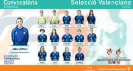 Convocatorias definitivas para el Campeonato de España Sub-12