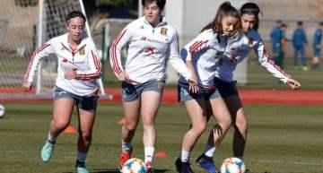 La levantinista Nuria Martínez jugará el Torneo de Montaigu con España Sub-16