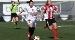 Mari Paz Vilas: 'Cada vez que salto al campo en un derbi intento defender los colores del Valencia con uñas y dientes'
