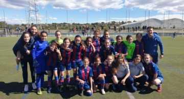Una defensa brillante permite al Levante Femenino 'B' hacerse con el campeonato Cadete-Infantil