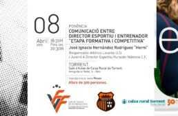 El Comité de Entrenadores FFCV organiza una ponencia de 'Herni' (Levante UD) en Torrent el próximo 8 de abril