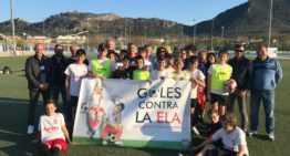El Ciutat de Xàtiva marca 'goles contra la ELA'