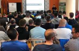 Más de 100 entrenadores acudieron a la Jornada de Formación del CTE en Peñíscola