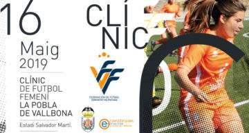 La Pobla de Vallbona acogerá un nuevo Clinic FFCV femenino el 16 de mayo
