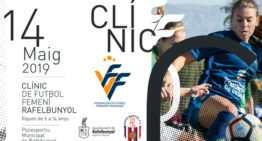 Nuevo Clinic FFCV gratuito de fútfem el 14 de mayo en Rafelbunyol