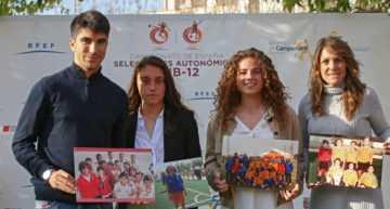 GALERÍA: Carlos Soler y Ruth García recuerdan su paso por la Selección Valenciana