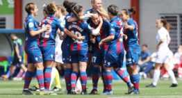 El Levante Femenino no dio opción al Logroño (4-0)
