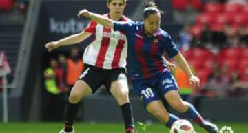 El Levante Femenino fue superado por el Athletic Club en un festivo San Mamés (2-0)