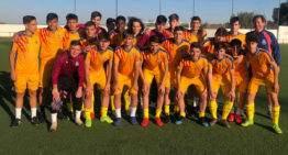 Entrenamiento en Picassent para la Selección FFCV Sub-16 el miércoles 24