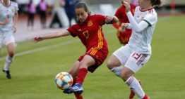 VIDEO: Cómodo triunfo de España Sub-19 Femenina ante Hungría (7-0)