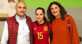 La valenciana Aitana Benítez debutó con España sub-19 de futsal ante Portugal