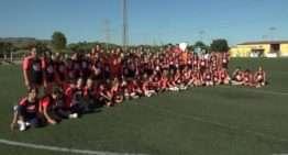 100 niñas gozaron del futfem y del aprendizaje en el Clínic Valenta de Sagunt
