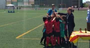 El Prebenjamín 'B' del Alboraya sigue dando alegrías a la escuela y vence en el Torneo de Albalat
