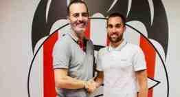 El CD Acero presenta en sociedad a su nuevo director deportivo Aitor Solis