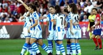 La Real Sociedad dio la campanada y conquistó su primera Copa de la Reina ante el Atlético Femenino (1-2)
