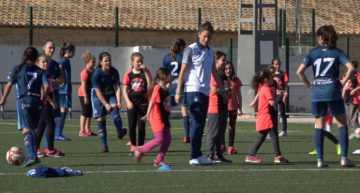 Nuevo Clínic Valenta de fútbol femenino en Jérica el 4 de junio
