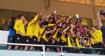 GALERÍA: El CD Roda conquista la V Copa Federación en el descuento (1-0)