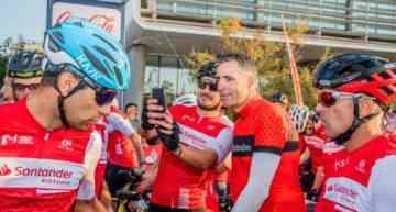 Induráin y Peio Ruiz Cabestany dan el empujón definitivo a la Gran Fondo Internacional Marcha Ciudad de Valencia 2019