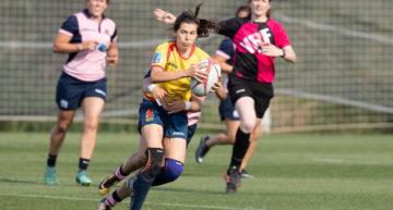 TSB Sports&Events organiza la serie inaugural de la Copa de la Reina de rugby seven en Oliva Nova