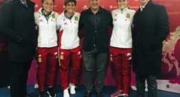 Ivana, Marta y Sandra representarán a la FFCV en la Copa del Mundo de Francia