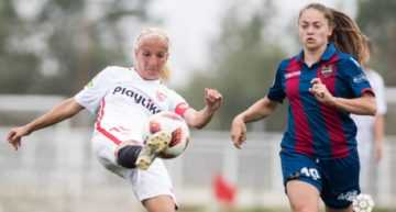 El Sevilla Femenino se salva tras derrotar a un Levante desdibujado (1-0)